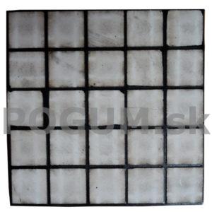 Gumo keramické materiály - štvorcový profil