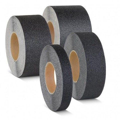 Protišmykové pásky pre pohyb bez obuvi - čierne