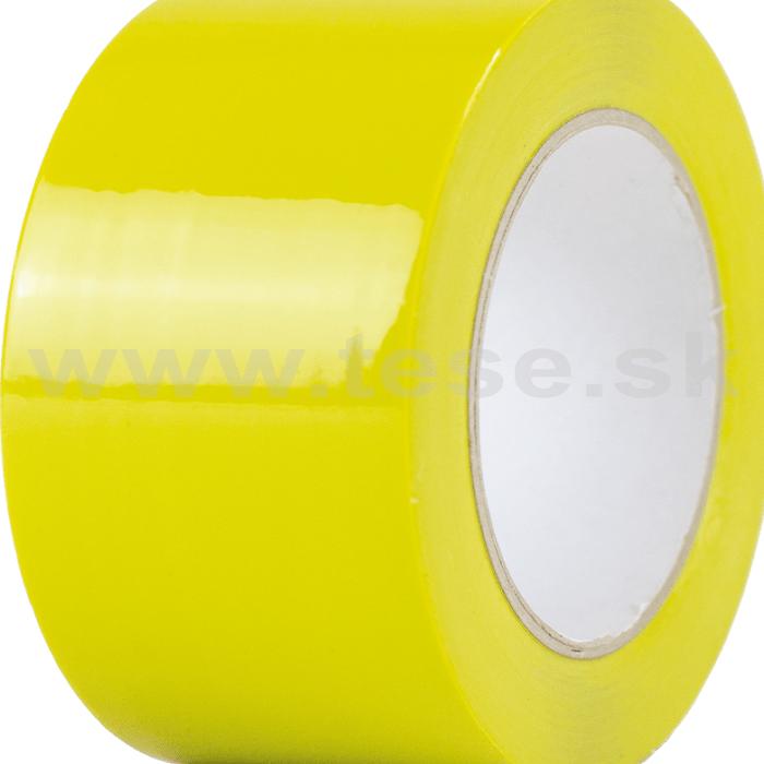 Podlahová páska laminovaná žltá